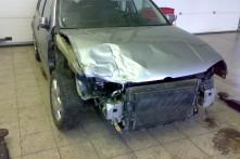 VW GOLF před opravou