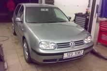 VW GOLF po opravě