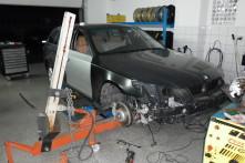BMW 530Xd při opravě